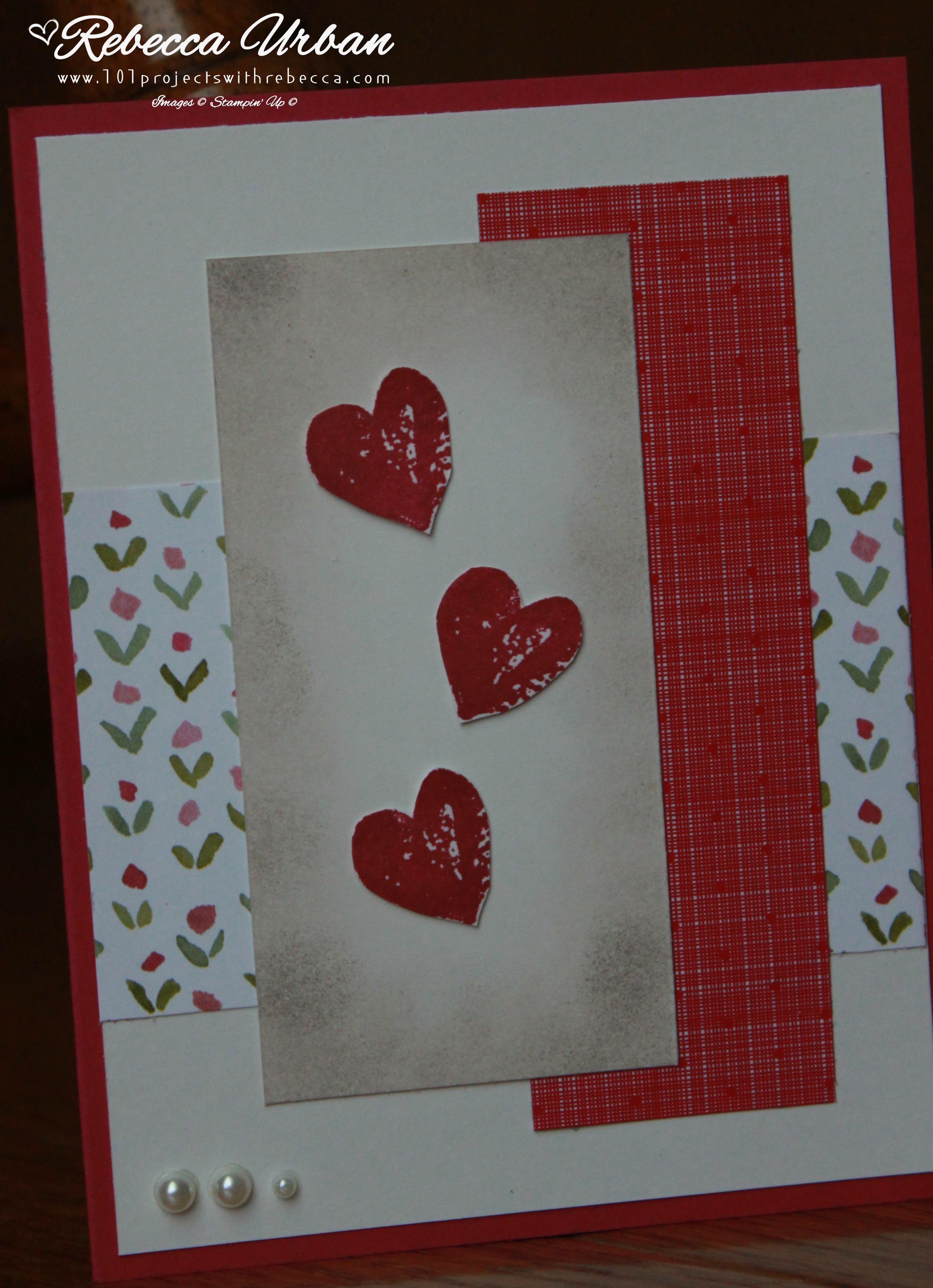 Stamps Ink Paper Challenge Love