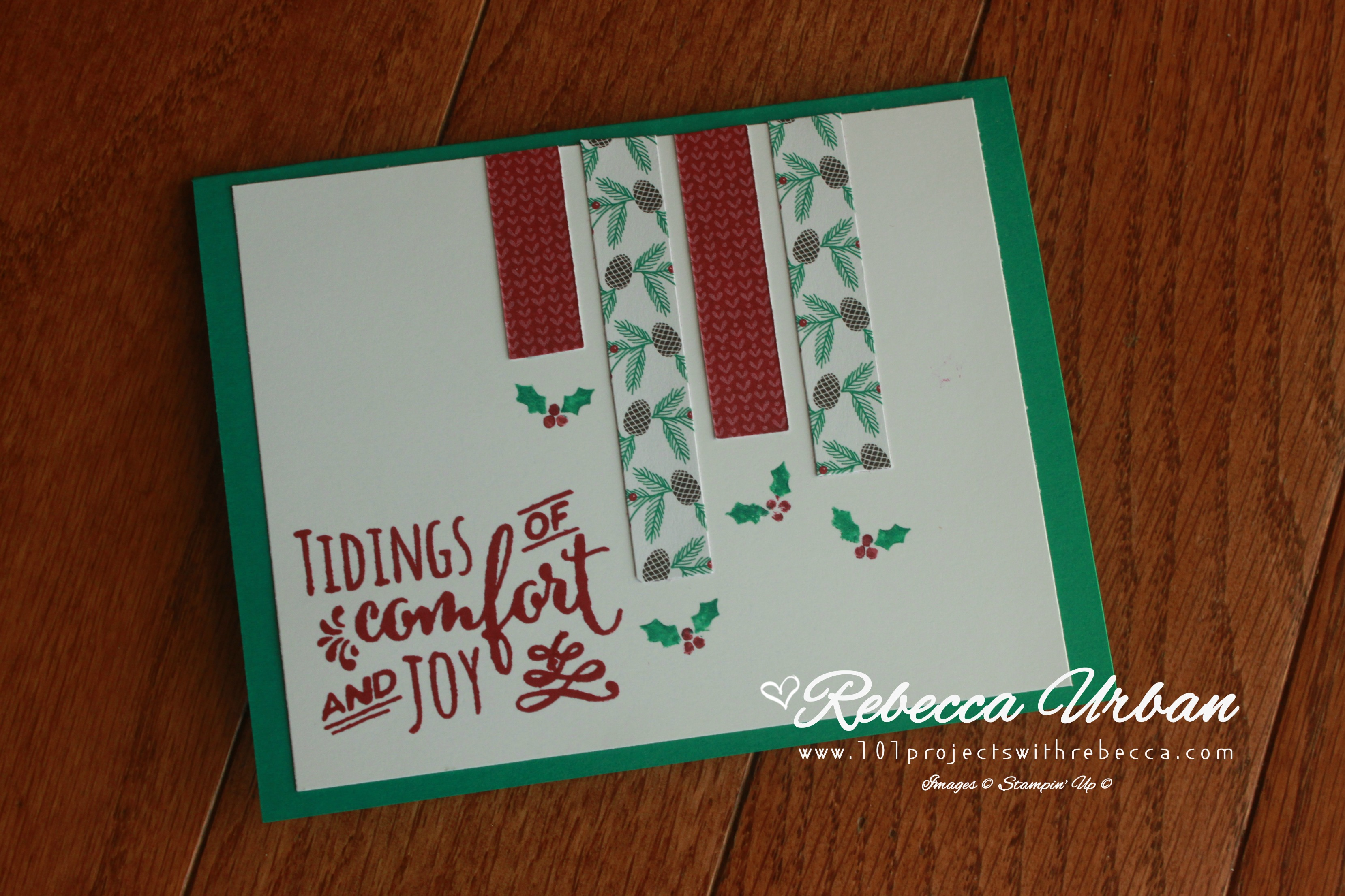 Stampin' Up! Presents and Pinecones.  Stampin' Up! OSW