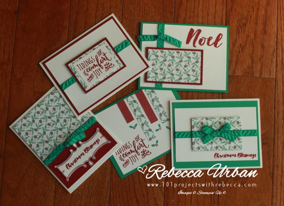 osw 6x6 presents and pinecones set